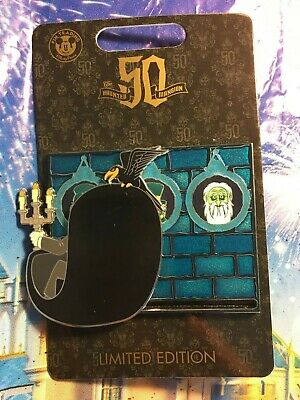 DOOM BUGGY SLIDER Pin Haunted Mansion 50th Disney Disneyland LE1500 Ghosts