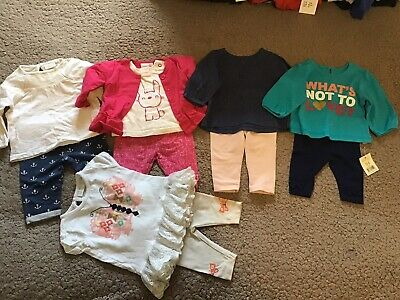 Baby Girls Outfit Bundle 0-3 Months