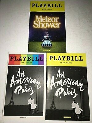 Playbills, An American In Paris - Regular, Pride, and B&W, Kristen Chenowith