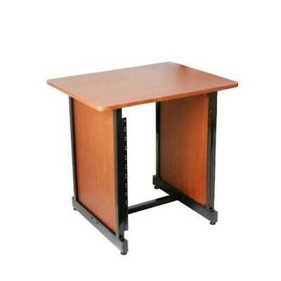 On-Stage WSR7500RB Workstation Rack Stand (Rosewood and Black)
