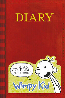 Diary of a Wimpy Kid Book Journal by JEFF KINNEY.