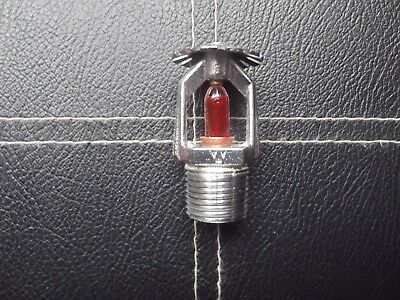 Old Fire Sprinkler - wormald type A 15mm 68c chrome 1994