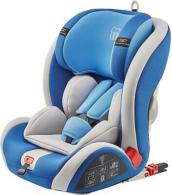MCC ISOFIX Convertible Baby Car Seat, Group 1,2,3 9-36 kg (Blue)