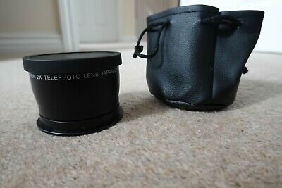 58mm 2X Telephoto Lens for Canon Camera
