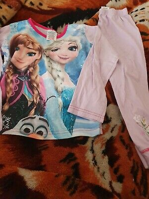 Lovely Girls disney frozen Pyjamas Age 4-5 Years
