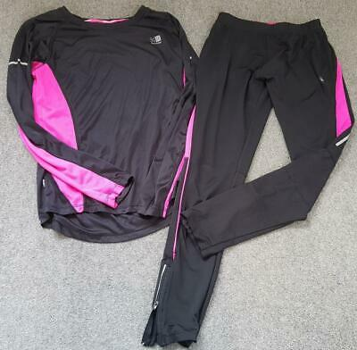 Girls Karrimor, 2 Piece Sportswear Outfit, 14 Yrs, Pink/Black