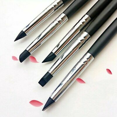 5PC Silicone Nail Art Pen Brush Fine Carving Craft Pottery Sculpture Brush Shns