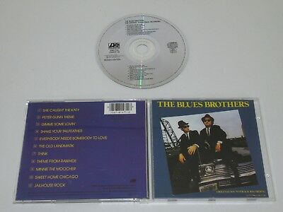 The Blues Brothers/ Soundtrack/ Brothers (Atlantic 7567-81471-2) CD Album