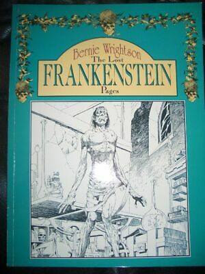 BERNIE WRIGHTSON - The Lost Frankenstein Pages - Top Zustand