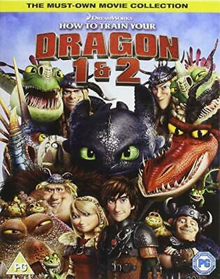 Dvd Blu Ray Box Set : How To Train Your Dragon 1 & 2 Brand New & Sealed