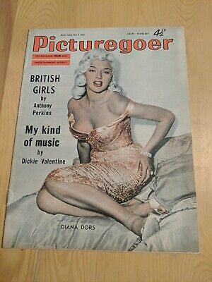 1957 PICTUREGOER magazine cinema DIANA DORS ,,