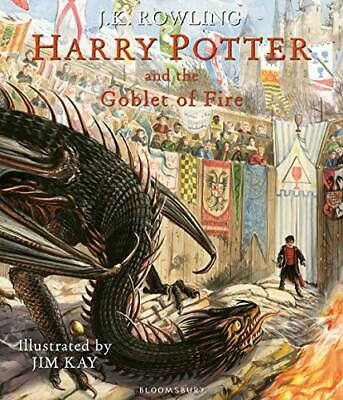 Harry Potter and the Goblet of Fire: Illustrated Edition (Har New Hardcover Book