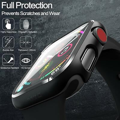 Hard Case Cover Screen Protector For Apple Watch Series 2 3 4 5 40/44mm 38/42mm