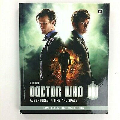 Doctor Who Adventures in Time & Space Liminted Ed. RuleBook Hardback Book BBC
