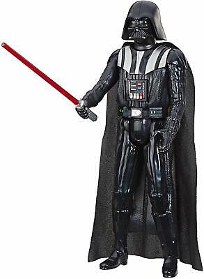 """Star Wars Hero Series Darth Vader Toy 12"""" Scale Action Figure With Lightsaber"""