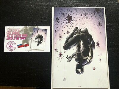 Spider-Man #1 Clayton Crain Virgin Variant NYCC Exclusive limited to 600 NM