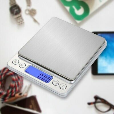 3Kg/0.1g Kitchen Digital Scale LCD Electronic Balance Food Weight Scales VJfIH