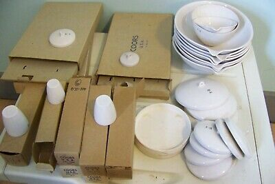 Big Lot new & used Coors Porcelain Crucible  Lab Filters Strainers Bowls Lids