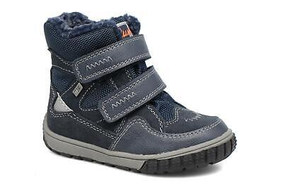 Lurchi By Salamander Marcus Boys Casual Shoes In Grey with Orange New Season