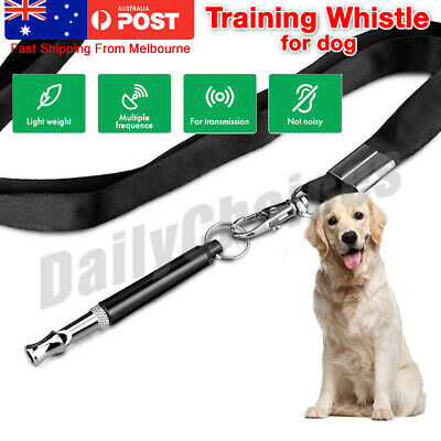 Dog Training Whistle Control Bark Stop Barking Deterrent to Pet Melbourne