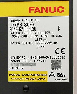 1Pc New In Box Fanuc A06B-6200-H030