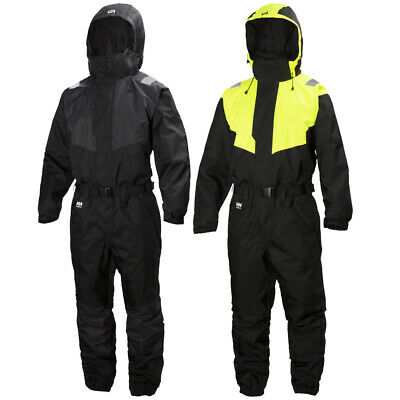 Helly Hansen Mens Leknes Suit Full Body Hooded Workwear Coveralls