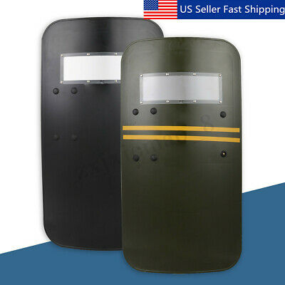 35'' Tactical Anti Riot Law Enforcement Impact Police Arm Hand Shield Protection
