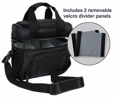 Soft Bag for Infant and Baby Bottles and Breast Milk Storage (Black)