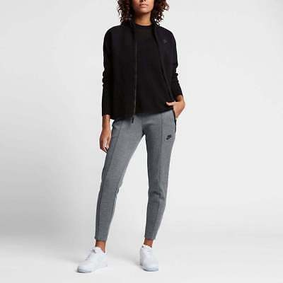 Pantalon jogging Nike Swoosh Blanc Noir Collection 2019