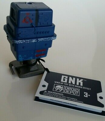 DISNEY Star Wars Galaxys Edge GONK Power Droid GNK WIND UP w/SOUND EFFECTS