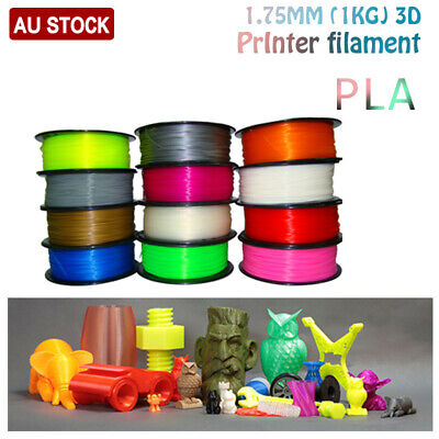 3D Printer Filament PLA PLA+ ABS PETG Accuracy +/- 0.02mm 1.75mm 1Kg/Roll AU