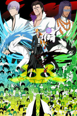 BLEACH ICHIGO FINAL FORM ANIME A3 ART PRINT POSTER YF5075