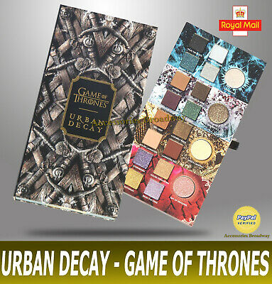Urban Decay -Game Of Thrones- Limited Edition Eyeshadow Palette - Cosmetic Tools