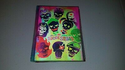 Suicide Squad Blu Ray Dvd 3 Disc Set Target Exclusive Lenticular Digibook
