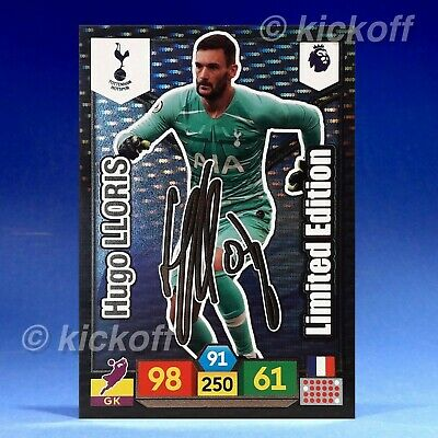 Panini Adrenalyn XL 2019-2020: Lloris - SIGNED Limited Edition.Spurs. Free Post