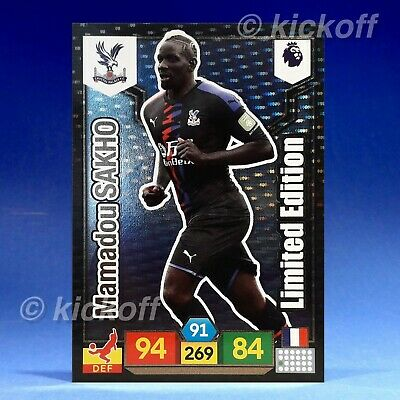 Panini Adrenalyn XL 2019-2020: Sakho Limited Edition. Crystal Palace. Premier