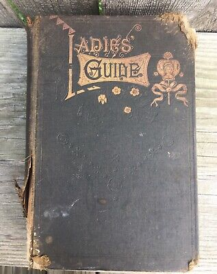"""1895 Antique """"Ladies' Guide in Health & Disease By J.H Kellogg, MD"""