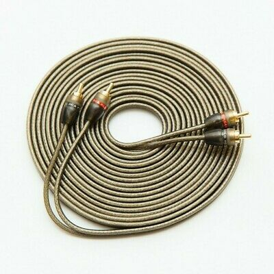 rca cable shielded in various lengths ofc copper high quality 3-20 feet options