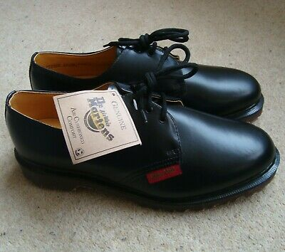 NEW Men's DR. MARTENS Royal Mail Shoes Size 7 UK Post Office Man 3 Eyelet Gibson