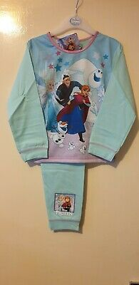Disney Official Frozen 2 Girls Pyjamas Anna & Elsa Pjs Age 18- 24 months