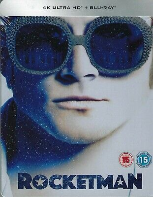 Rocketman 2-Disc Limited Edition 4K Ultra HD SteelBook (Region Free UK Import)