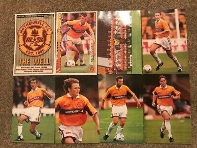 Panini Scottish Premier League Collection 98-99 Season 8x Motherwell All Dif VG'