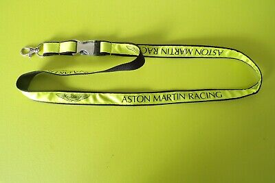 Aston Martin Racing Team Issue Lanyard - New - Last One In Stock