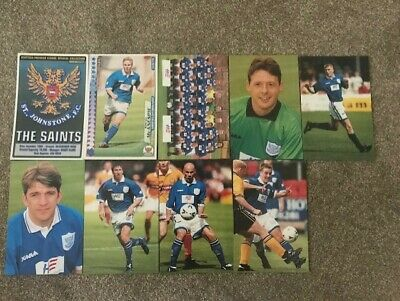 Panini Scottish Premier League Collection 98-99 Season 9 x St Johnstone FC VG.