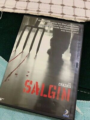 The Crazies Horror Movie Turkish Dvd Hard To Find Used Rare