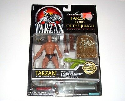 Tarzan Lord Of The Jungle The Hunter 1995 New Sealed Adventures Action Figure
