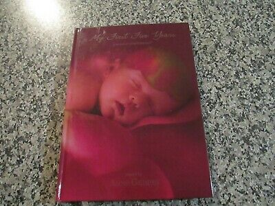 ANNE GEDDES - MY FIRST FIVE YEARS - Baby Diary -A Record of Early Childhood Book