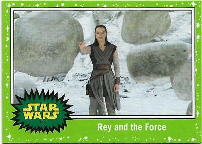 2019 Topps Star Wars Journey to The  Rise of Skywalker Green Starfield #90