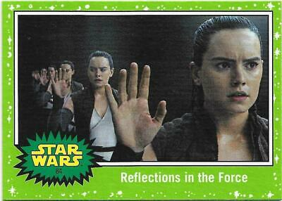 2019 Topps Star Wars Journey to The  Rise of Skywalker Green Starfield #84