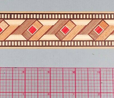 Beautiful Classic Patterned Marquetry Banding Strips (Inlay-21b)